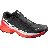 サロモン Salomon メンズ ランニング シューズ・靴【S-Lab Wings 8 SG Trail Running Shoe】Black/Racing Red/White