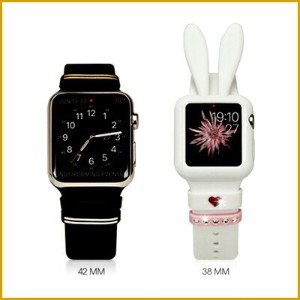 Apple Watch 38 mm ケース Bling My Thing Honey Bunny Bumper シリコンケース created with Swarovski Crystals for...