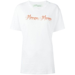 Off-White - Mirror Mirror Tシャツ - women - コットン - S