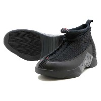 NIKE AIR JORDAN 15 RETRO ナイキ エア ジョーダン 15 レトロBLACK/VARSITY RED-ANTHRACITE