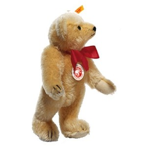 Steiff 000355 シュタイフ ぬいぐるみ テディベア 25cm Classic 1909 Jointed Teddy Bear with Squeaker (Blond)