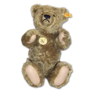 Steiff 000737 シュタイフ ぬいぐるみ テディベア 35cm Classic 1920 Jointed Teddy Bear with Growler (Light Brown)