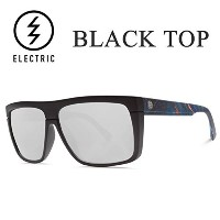 ELECTRIC(エレクトリック) エレクトリック サングラス electric BLACK TOP /MIDNIGHT OIL/MELANIN GREY SILVER CHROME...