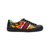 Gucci - Ace Flame スニーカー - men - レザー/rubber - 7