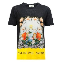 Gucci - Water Lilies Tシャツ - men - リネン - S