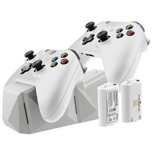 Xbox One用 Charge Block Duo White[NYKO]《取り寄せ※暫定》