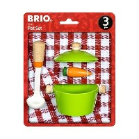 BRIO キッチンアソートセット (お鍋) (ままごと道具)誕生日 出産祝 など プレゼント ギフト に人気プレゼントやギフト に人気の ブリオの木のおもちゃ