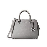 MICHAEL KORS SUTTON MEDIUM SATCHEL PEARL GREY [並行輸入品]