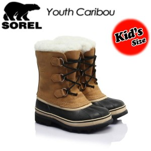 ★SALE50%OFF!送料無料★【SOREL】ソレル【Youth Caribou】ユース カリブー LY1000 ブーツ キッズ 子供用