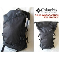 Columbia /コロンビア 【モンロースプリングスロールバックパック】 MONROE SPRINGS ROLL BACKPACK PU8105 010/Black