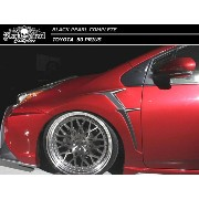 【M's】プリウス 50 フロント フェンダー キット / BLACK PEARL COMPLETE/ブラック パール コンプリート // トヨタ TOYOTA / front fender kit
