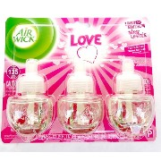 AIR WICK SCENTED OIL 3PACK LOVE