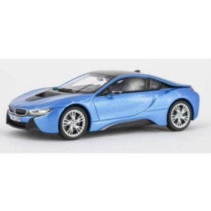 1/43scale パラゴン PARAGON BMW i8 Protonic Blue+Frozen Grey 左ハンドル