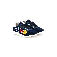 Cesare Paciotti 4Us Kids - レースアップスニーカー - kids - レザー/ピッグレザー(豚革)/Calf Suede/rubber - 34