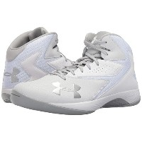 (アンダーアーマー)Under Armour メンズバスケットボールシューズ・靴 UA Lockdown White/White/Metallic Silver 28.5cm D - Medium ...