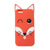 IPHONE CASE 3D FOX HEAD