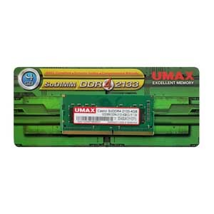 CA-SODDR4-2133-4GB【税込】 UMAX PC4-17000(DDR4-2133)260pin S.O.DIMM 4GB Castor SoDDR4-2133-4GB ...