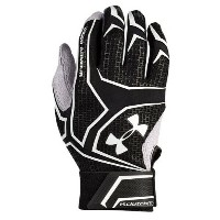 アンダーアーマー メンズ 野球 グローブ 手袋【Under Armour Yard Clutchfit Batting Gloves】Black/Black/White