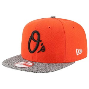 ニューエラ メンズ 帽子 キャップ【New Era MLB 9Fifty Premium Pattern Snapback】Orange/Multi