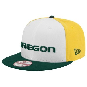 ニューエラ メンズ 帽子 キャップ【New Era College 9Fifty Rotator Fan Snapback】Green