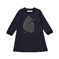 【SALE(伊勢丹)】<TOKYO DRESSxReady for the Weekend> プリントワンピース ネイビー キッズファッション~~ワンピース