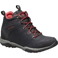 コロンビア Columbia レディース ハイキング シューズ・靴【Fire Venture Mid Waterproof Hiking Boot】Black/Burnt Henna