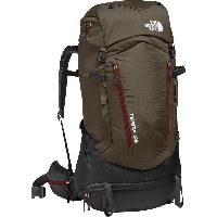 (取寄)ノースフェイス テラ 65 バックパック The North Face Men's Terra 65 Backpack Falcon Brown/Sequoia Red