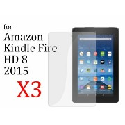 Amazon Kindle Fire HD 8 2015 低反射 前面フィルム 液晶保護シート【3枚入り】【S.Pack】