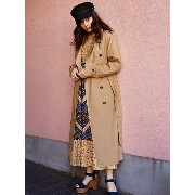 SLY EDIE LONG TRENCH COAT スライ【送料無料】