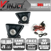 Mazda CX-5 フォグライト 13-15 Mazda CX-5 Clear Bumper Driving Fog Lights + Switch Kit 13-15マツダCX...