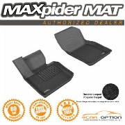 Mini Cooper フロアマット 14-15 Mini Cooper Black 3D Maxpider Classic Floor Mat Carpet 2Pcs 1St Row R1 14...