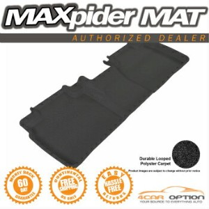 Toyota Camry フロアマット 3D Maxpider Black Floor Mat Classic Carpet 1Pc 12-15 Toyota Camry L4 3D...