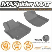 Toyota Matrix フロアマット 3D Maxpider 03-08 Toyota Matrix L4 2Pcs Gray Floor Mat Classic Carpet R1 Row...