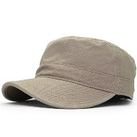 (オットー) OTTO 【PIECE GARMENT MILITARY CAP/KHAKI】 [並行輸入品]