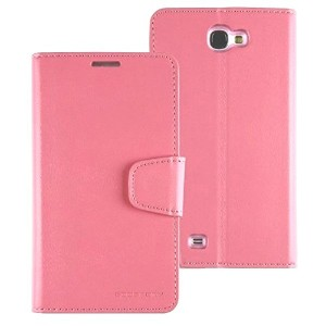【No.904-4】【液晶保護フィルム付】【正規品】samsung docomo Galaxy NoteⅡ(SC-02E)note2 対応 ケース MERCURY GOOSPERY LEATHER...