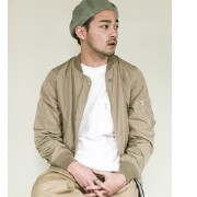 DOORS ALPHA INDUSTRIES×DOORS Exclusive MA-1【アーバンリサーチ/URBAN RESEARCH ミリタリージャケット】