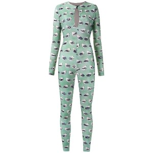 Adriana Degreas - printed jumpsuit - women - ポリアミド/スパンデックス - P