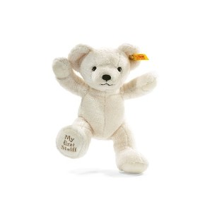 Steiff シュタイフ ぬいぐるみ テディベア Soft and Cuddly Baby Safe My First Teddy Bear (Cream) BOXED - 24cm