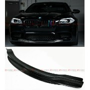 BMW M5 エアロ R STYLE CARBON FIBER FRONT BUMPER CENTER CHIN LIP SPOILER FOR 2012-2016 BMW M5 R...