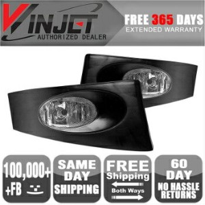 Honda Fit フォグライト 06-07 Honda Fit OE Fog Light Lights Wiring Kit Included Clear Lamps クリアランプ含ま06...