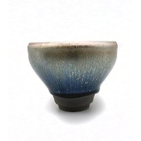 Pottery Mall 茶わん 曜変 天目 茶碗 油滴 天目 抹茶碗 手作り盃 湯呑 2月15日に新入荷!AM0749