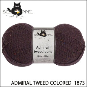 SCHOPPEL 靴下用毛糸 ADMIRAL TWEED COLORED 1873