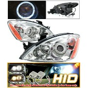 Mitsubishi Lancer ヘッドライト Xenon HID 04-06 Lancer CCFL Halo Projector Headlight 05 キセノンHID 04から06ランサーC...