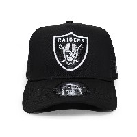 (ニューエラ) NEW ERA OAKLAND RAIDERS 【D-FRAME TRUCKER MESH/BLK】 オークランド レイダース