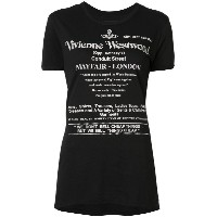 Vivienne Westwood Anglomania - プリント Tシャツ - women - コットン - M