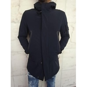 "C.P.COMPANY(シー・ピー・カンパニー)【GIACCA SFODERATE IN SOFT SHELL】""GOGGLE LENS""C.P.SHELL TYPE""M-51""COAT★NAVY☆"
