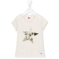 American Outfitters Kids - プリント Tシャツ - kids - コットン/ルレックス - 4歳