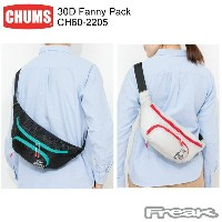 CHUMS チャムス CH60-2205<30D Fanny Pack 30Dファニーパック>※取り寄せ品