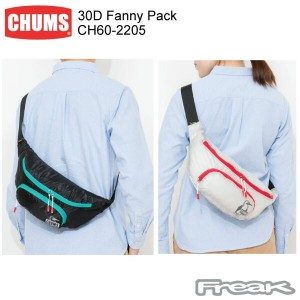 【CHUMS チャムス】CH60-2205<30D Fanny Pack 30Dファニーパック>※取り寄せ品