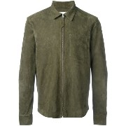 Our Legacy zipped suede jacket